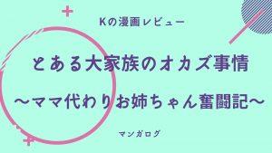 「とある大家族のオカズ事情~ママ代わりお姉ちゃん奮闘記~」アイキャッチ